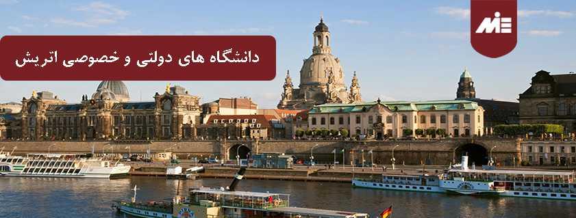 دانشگاه های دولتی و خصوصی اتریش