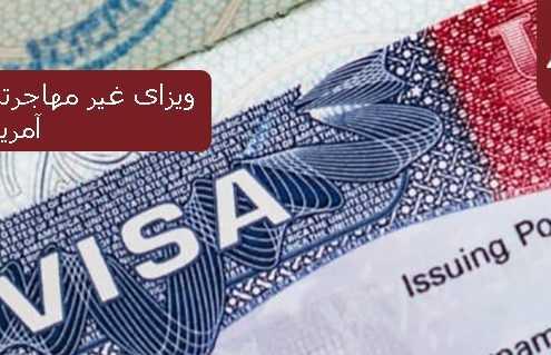 ویزای غیر مهاجرتی ایالات متحده امریکا 495x319 آمریکا