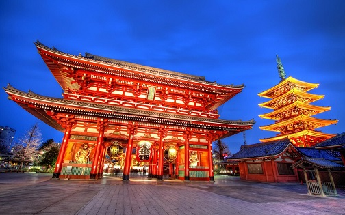 tokyo japan temple city hd wallpaper 417378 تحصیلی