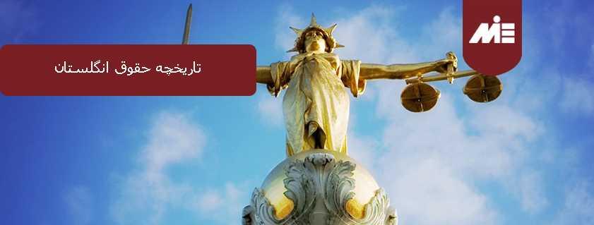 تاریخچه حقوق انگلستان