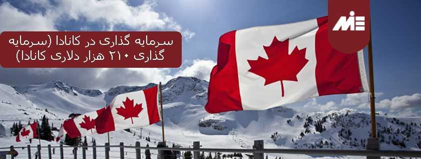 سرمایه گذاری در کانادا (سرمایه گذاری ۲۱۰ هزار دلاری کانادا)