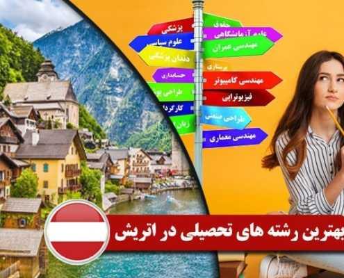بهترین رشته های تحصیلی در اتریش