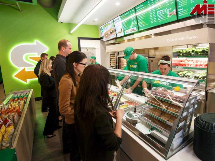 مشتریان SUBWAY اخذ نمایندگی و سرمایه گذاری در SUBWAY