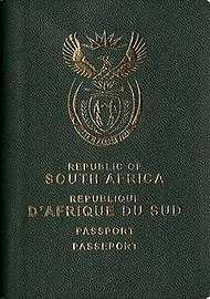 پاسپورت آفریقا پاسپورت آفریقای جنوبی