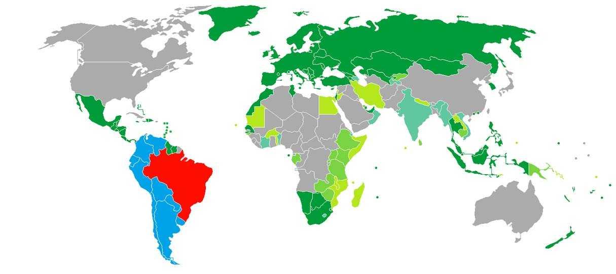 پاسپورت برزیل پاسپورت برزیل