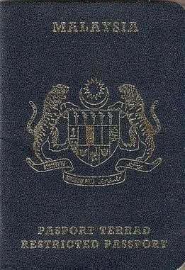 2 2 پاسپورت مالزی