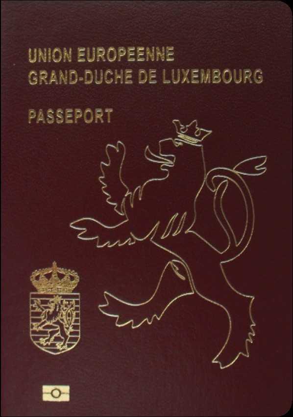 2 پاسپورت لوکزامبورگ