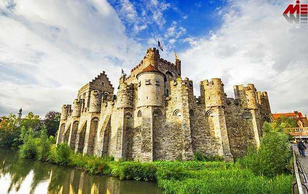 قلعه گراون استین ویزای توریستی بلژیک