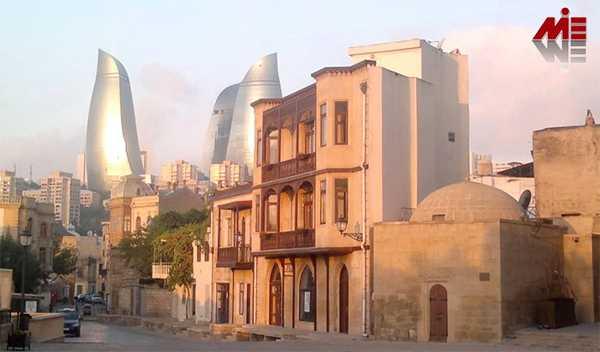 ویزای توریستی آذربایجان 3 ویزای توریستی آذربایجان