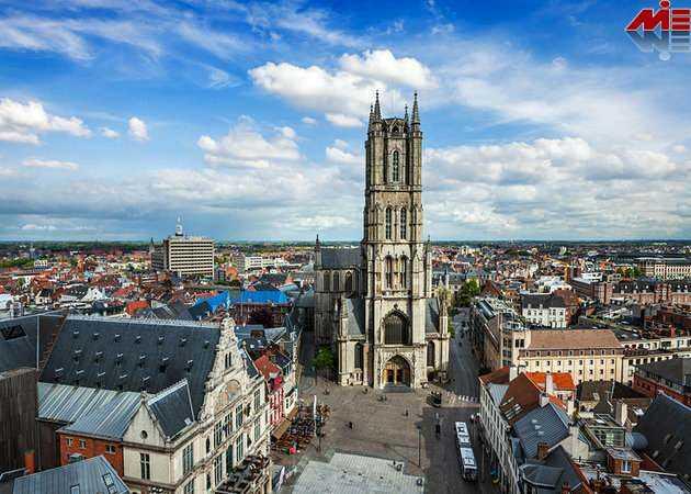کلیسای بروژ ویزای توریستی بلژیک