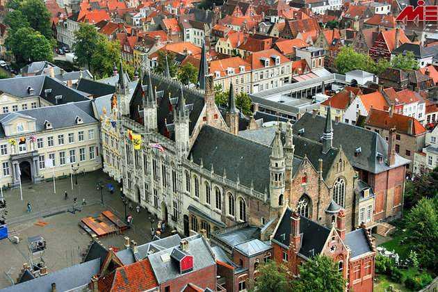 کلیسای خون مقدس ویزای توریستی بلژیک