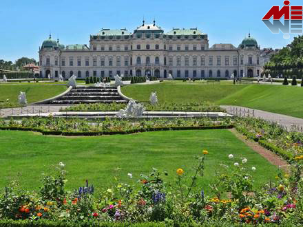 Schloss Belvedere m زندگی در وین