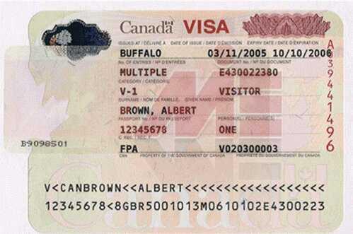 ویزای کانادا اخذ ویزای کانادا