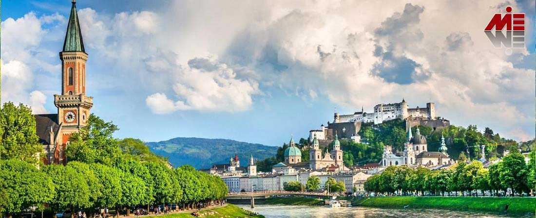 اخذ اقامت اتریش از طریق کار 2 ویزای دانشجویی اتریش