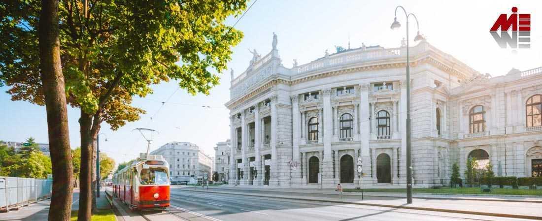 اخذ اقامت اتریش از طریق کار 3 ویزای اتریش