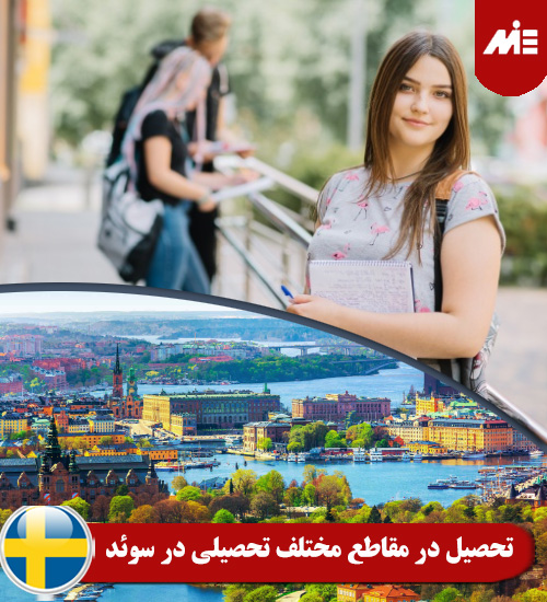 تحصیل در مقاطع مختلف تحصیلی در سوئد تحصیل در مدارس و دبیرستان های سوئد