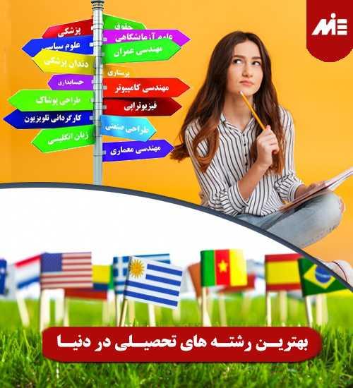 بهترین رشته های تحصیلی در دنیا برای مهاجرت چه مدرک زبانی لازم است؟