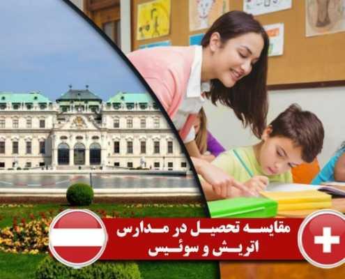 مقایسه تحصیل در مدارس اتریش و سوئیس