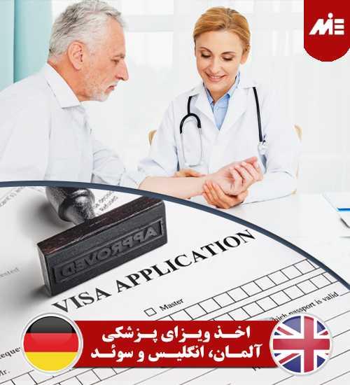 اخذ ویزای پزشکی آلمان، انگلیس و سوئد مقایسه چگونگی اخذ ویزای پزشکی آلمان، انگلیس و سوئد
