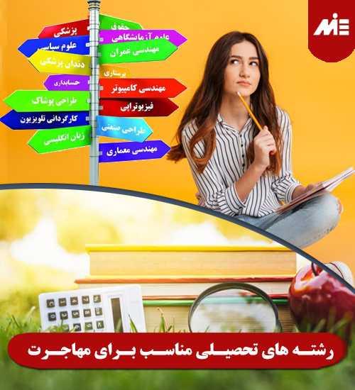 رشته های تحصیلی مناسب برای مهاجرت راه های قانونی اقامت و مهاجرت