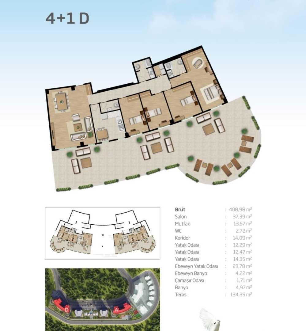 41 D املاک ترکیه پروژه شماره 18