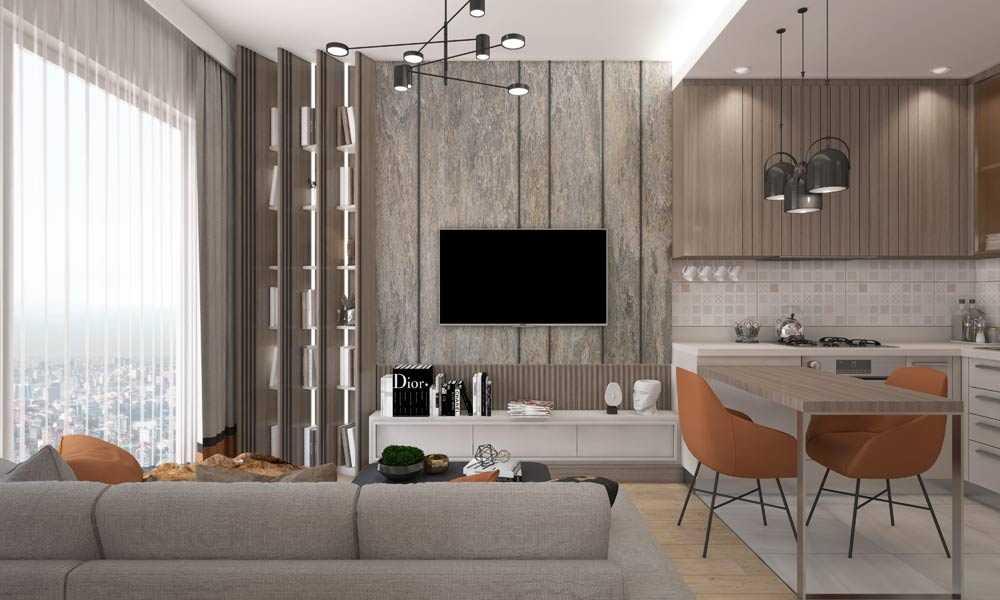 1 1 daire salon mutfak yatak odasi son 1 املاک ترکیه پروژه شماره 46