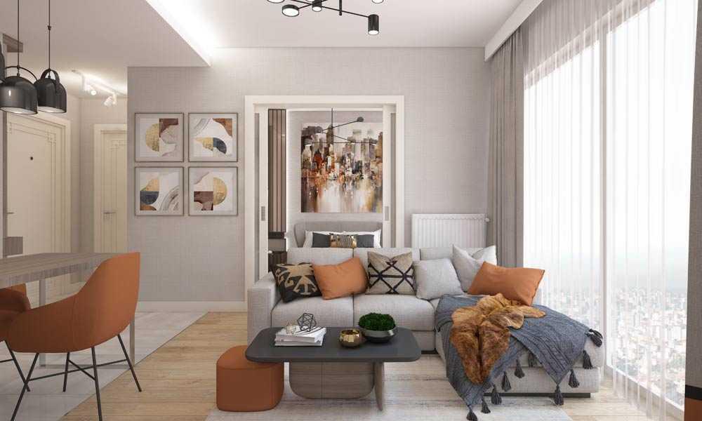 1 1 daire salon mutfak yatak odasi son 3 املاک ترکیه پروژه شماره 46