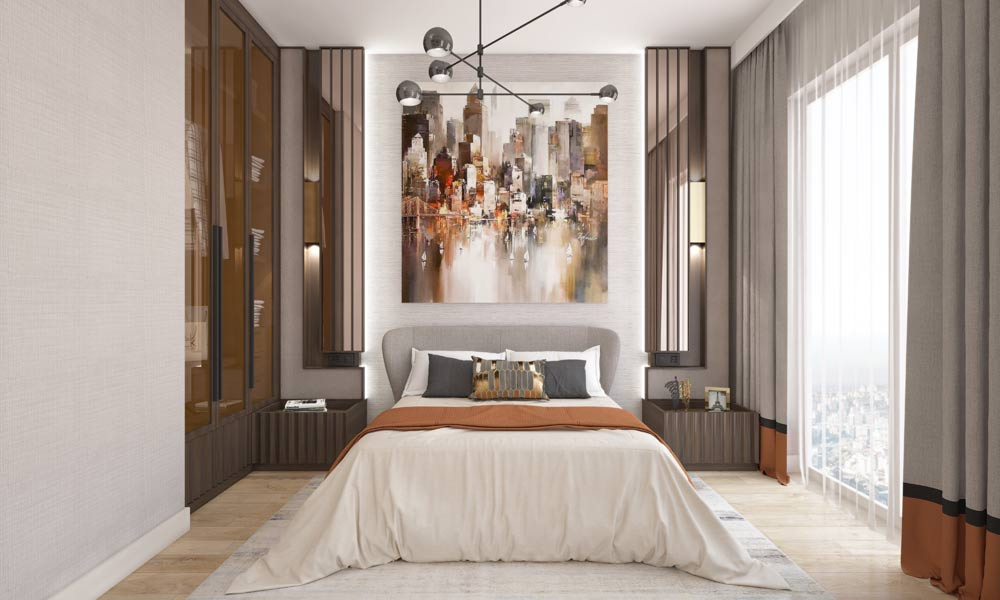 1 1 daire salon mutfak yatak odasi son 4 املاک ترکیه پروژه شماره 46