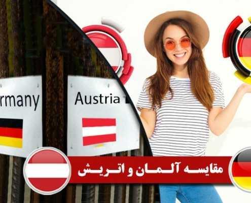 مقایسه آلمان و اتریش برای مهاجرت