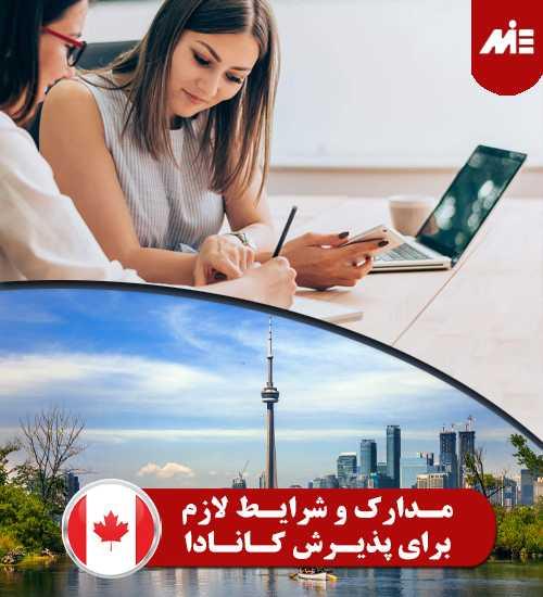 مدارک و شرایط لازم برای پذیرش کانادا تحصیل در رشته MBA در کانادا