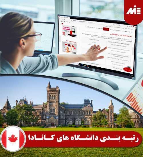 رتبه بندی دانشگاه های کانادا دانشگاه های کانادا