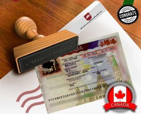 ویزای تحصیلی کانادا آقای کشاورزی