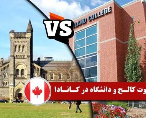 تفاوت کالج و دانشگاه در کانادا 2 495x400 مقالات