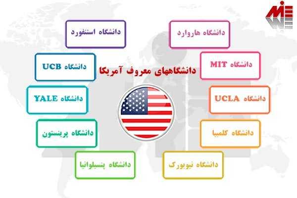 21 بهترین دانشگاههای آمریکا برای ایرانیان